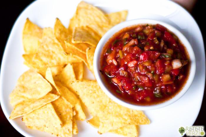 tortilla cu salsa