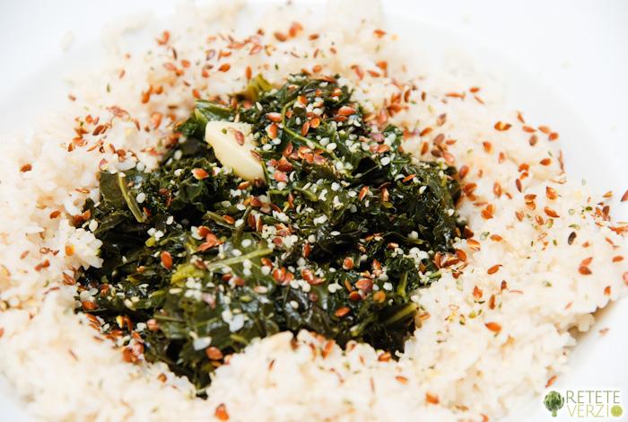 saute de kale